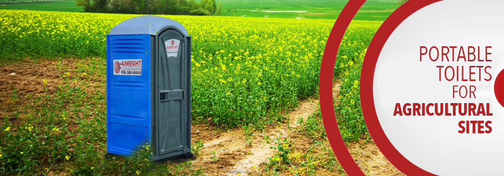 Agricultural Portable Toilets in Tulsa, Stillwater & Tahlequah, OK