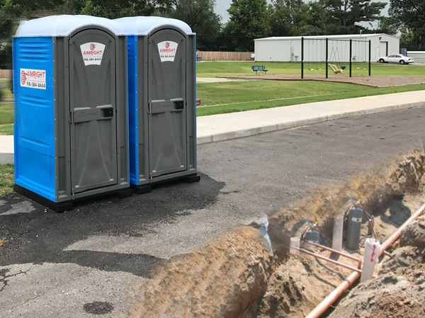 Pumping Portable Toilets